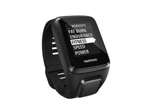 TomTom waterproof fitness tracker watch