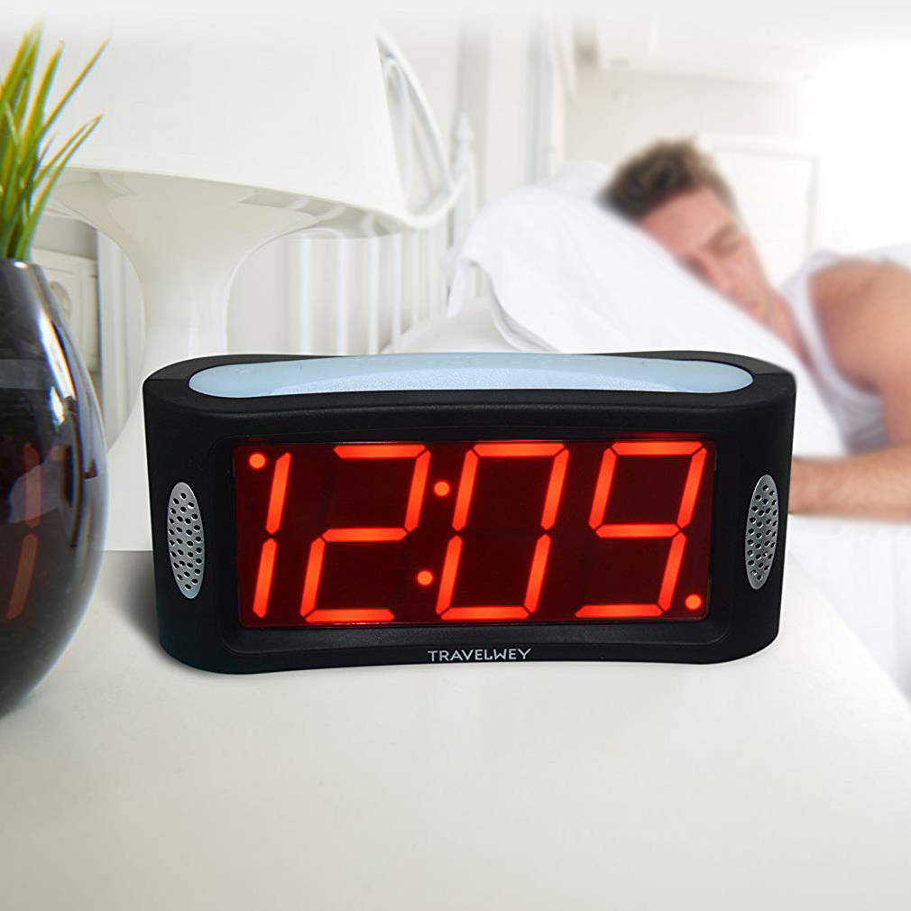 Top 5 Best Digital Alarm Clocks In 2020 Review