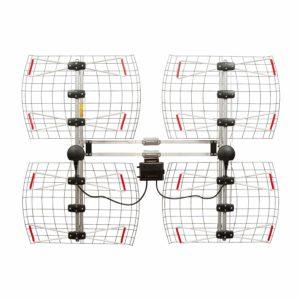 ANTENNAS DIRECT 8 Element Bowtie Indoor/Outdoor HDTV Antenna - 70 Mile Range - DB8e