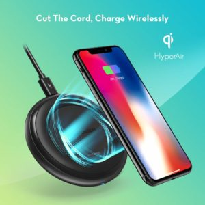 Fast Wireless Charger RAVPower Qi-Certified 7.5W Compatible iPhone Xs MAX/XR/XS/X/8/8 Plus