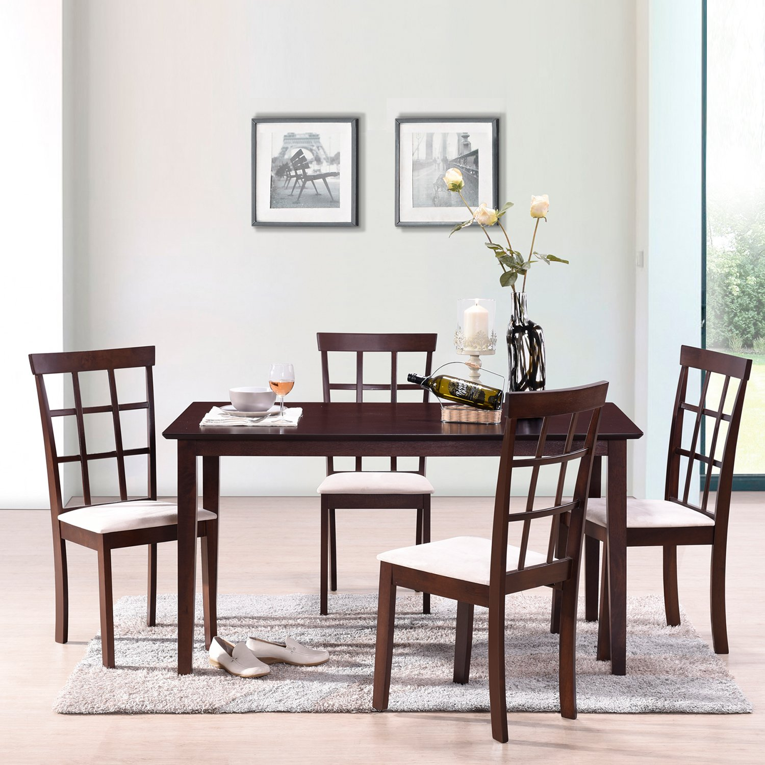 official photos ed130 6d8e1 Top 5 Best Wood Dining Tables in 2019 Review