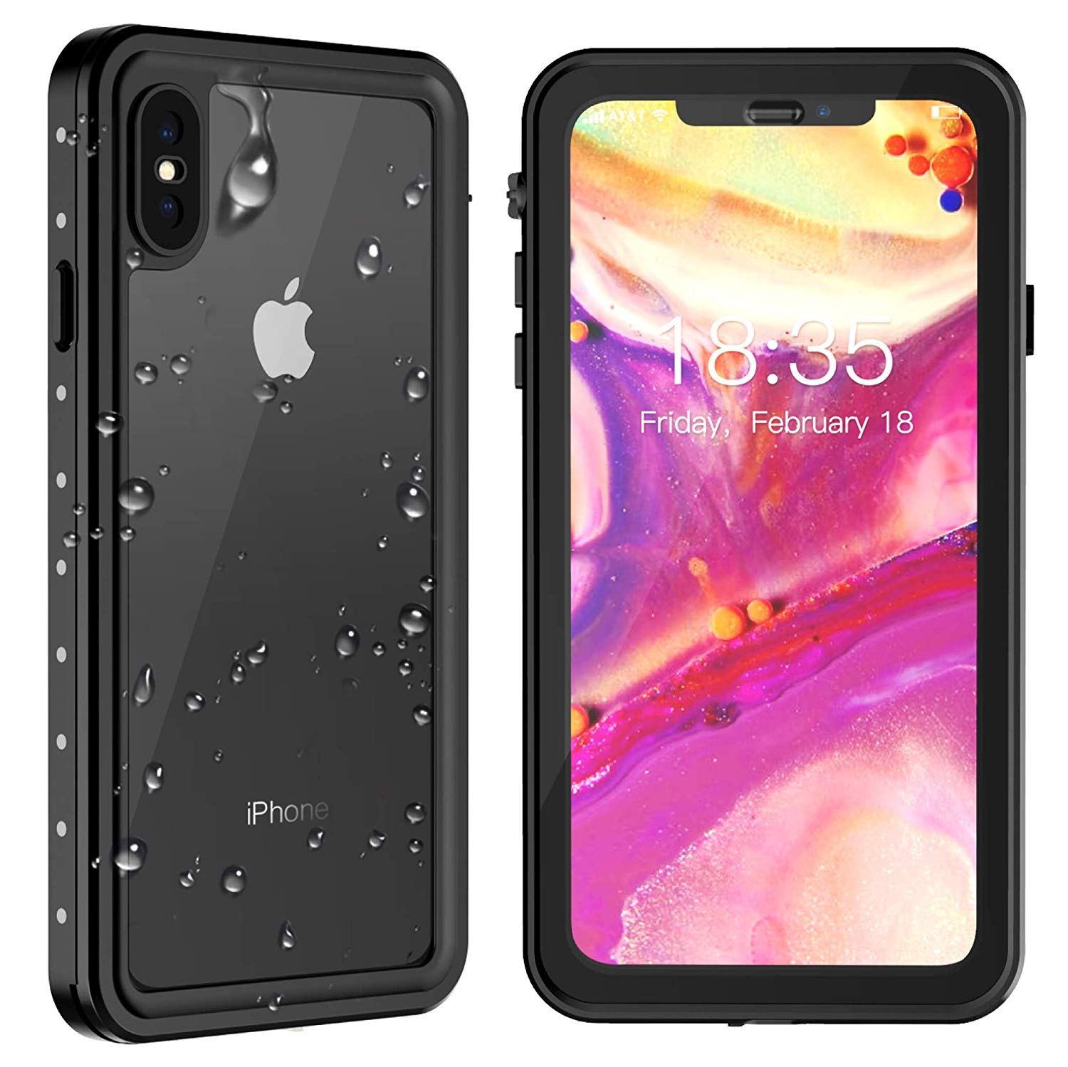 ae8528d00608e0 Top 10 Best iPhone x waterproof cases in 2019 review