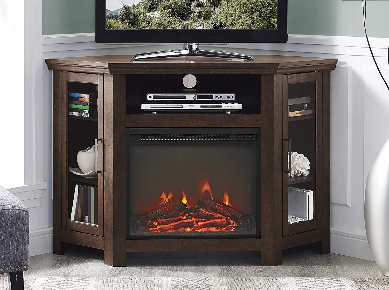 Picture of: Top 5 Best Tall Corner Tv Stands 2020 Review