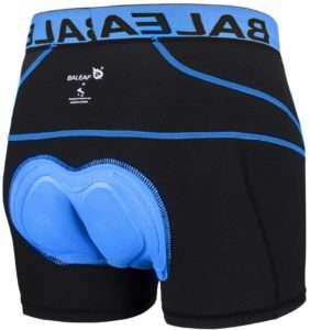 BALEAF Men's 3D Padded Cycling Underwear Shorts
