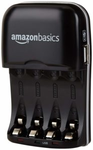 AmazonBasics Battery-Charger Rechargeable-Batteries