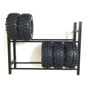 Can hold up to 10 wheels