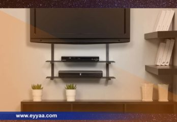 Top 5 Best TV Wall Mount With Shelf for Cable Box 2019 Review
