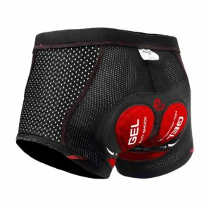 X-TIGER Men's Cycling Underwear Shorts 5D Padded Gel