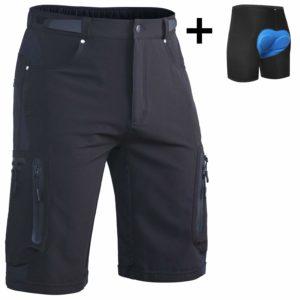 ALLY Cycling Underwear Shorts Men's 3D Padded Biking Bicycle Bike Tights Pants