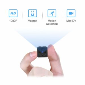 MHDYT Full HD 1080P Portable Small Covert Home Nanny Cam