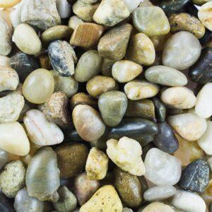 Mini Assorted Garden Beach Stone Rocks Pebbles Aquarium Lake Collection for Outdoor & Indoor Home Garden Decoration