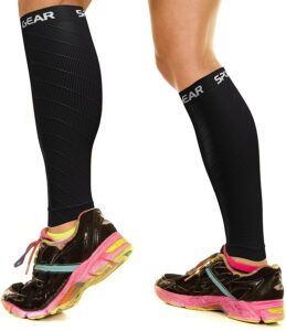 Physix Gear Sport Compression Calf Sleeves for Men & Women
