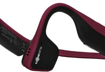 Aftershokz Titanium Open Ear Wireless Bone Conduction Headphones,