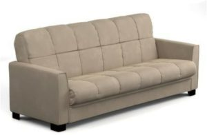 Baja Convert-a-couch and Sofa Bed, Multiple Colors (Khaki)