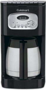 Cuisinart Classic Thermal Programmable Coffeemaker Coffeemaker, 10-Cup