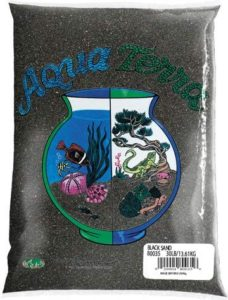 Nature's Ocean Aqua Terra Black Sand 5 lb Bag
